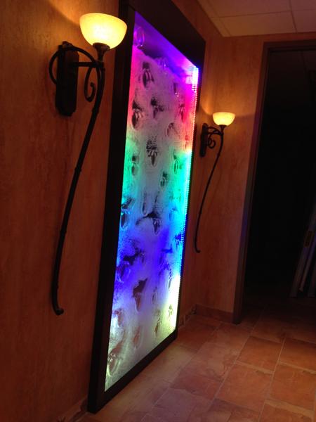 DEL lighting & Conception indoor bubble walls freestanding and recessed Canada ... azcodes.com