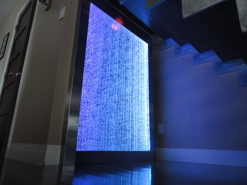 Indoor Bubble Wall Conception And Installation Canada